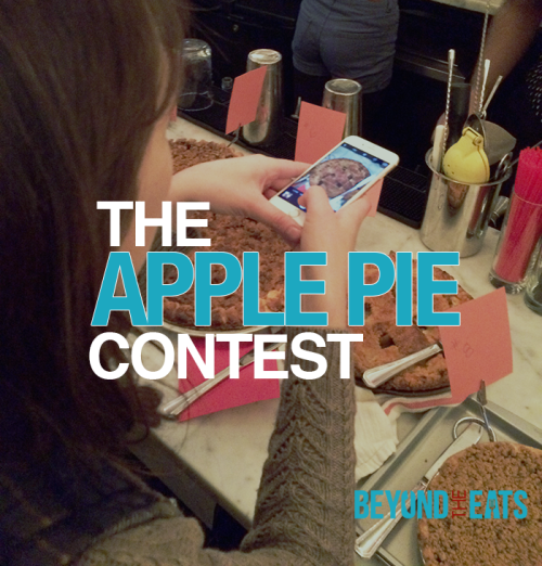 Apple Pie Contest at GG's NYC