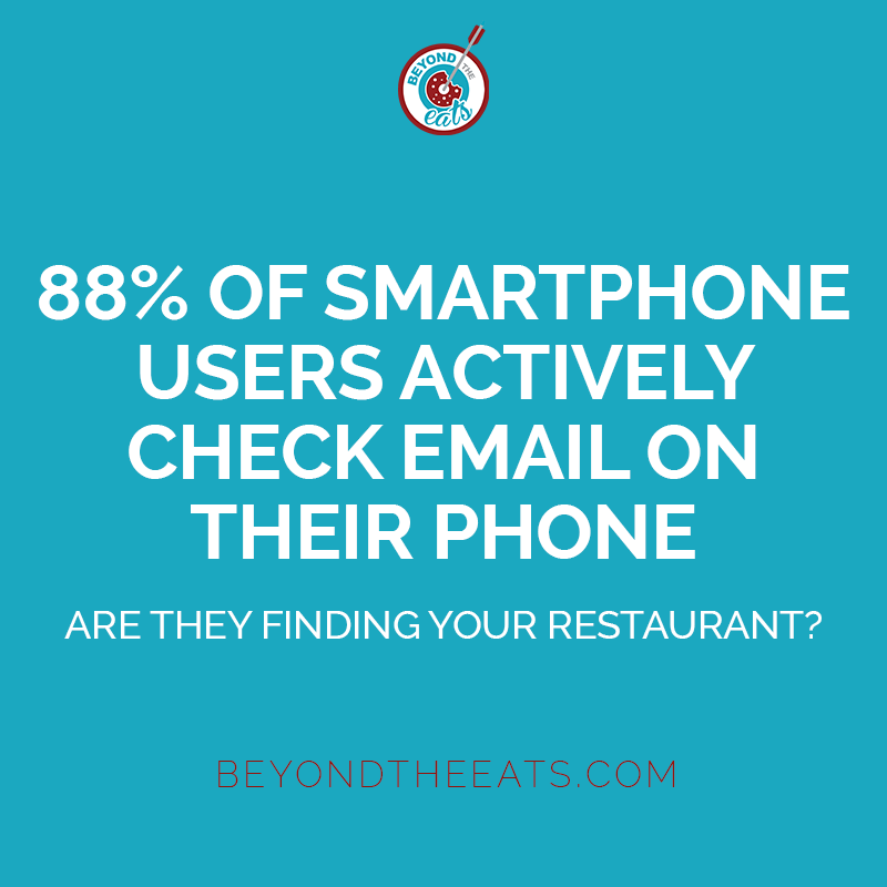 8 reasons why you need to use email marketing for your restaurant